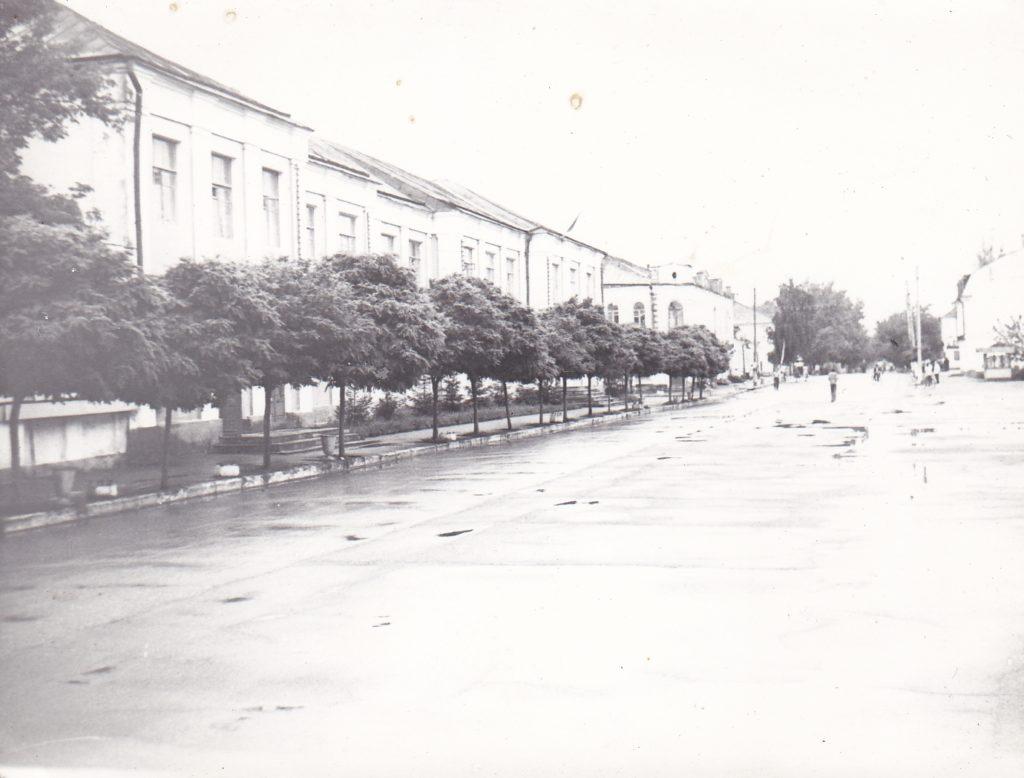 Старобельск. Центральная площадь. 70-80-е годы.