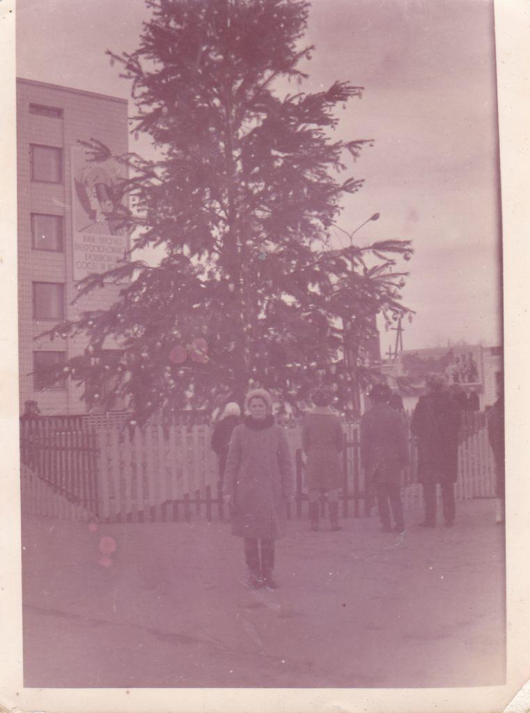 Старобельск. Центральная площадь. 80-е годы.
