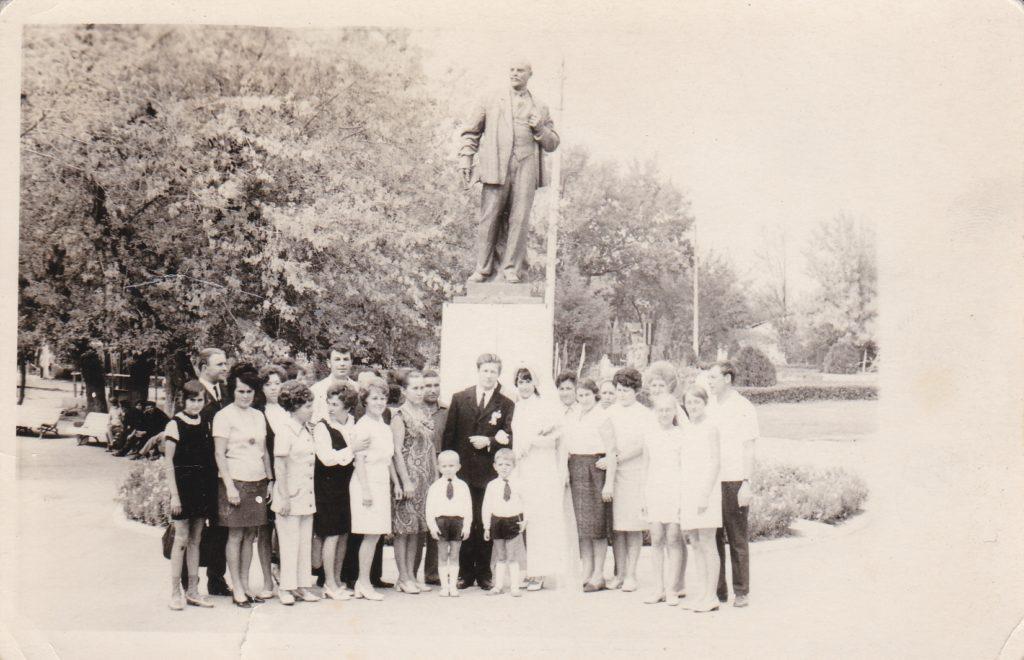 Старобельск. Парк КиО. 70-е годы.