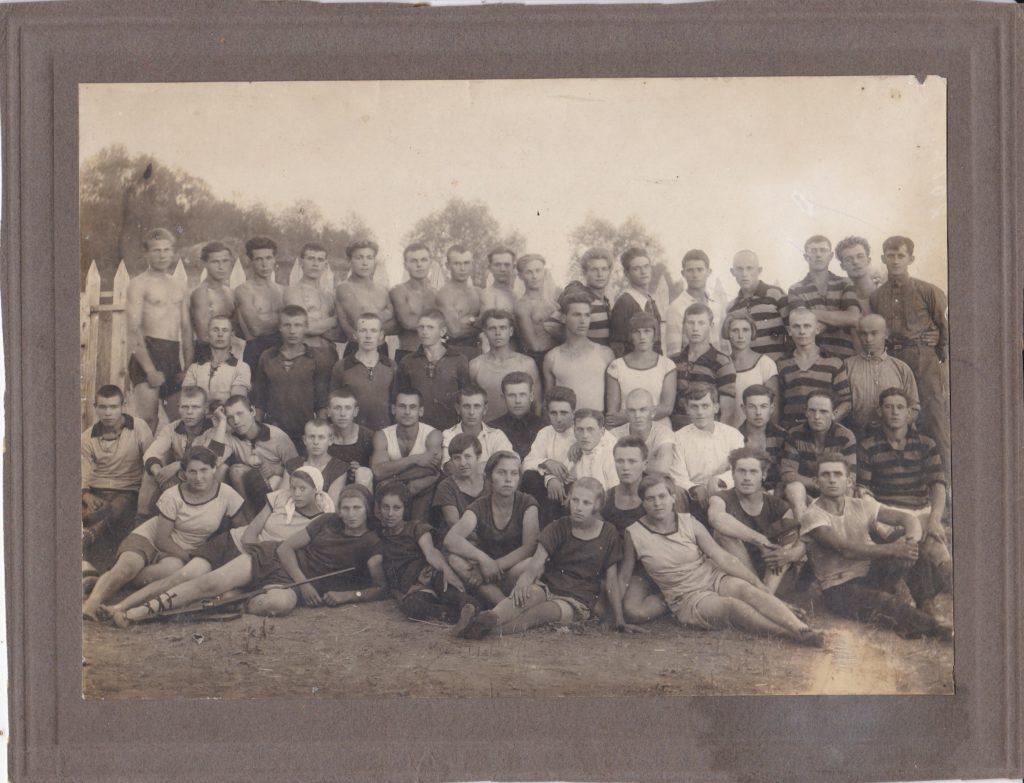 Старобельск, спортсмены, 20-е годы