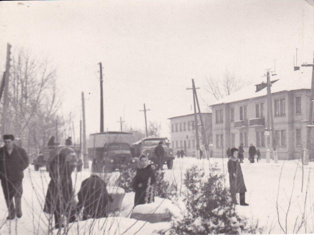 Старобельск, январь 1967года