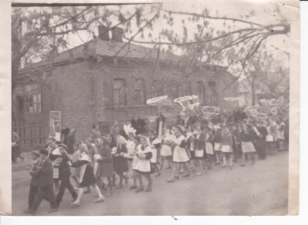 СТАРОБЕЛЬСК, 1 МАЯ 1964 года.