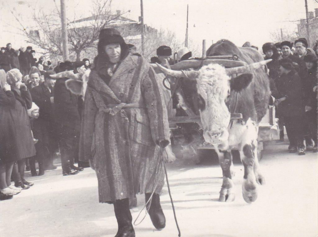 СТАРОБЕЛЬСК,1967 год, ПРАЗДНИК РУССКОЙ ЗИМЫ