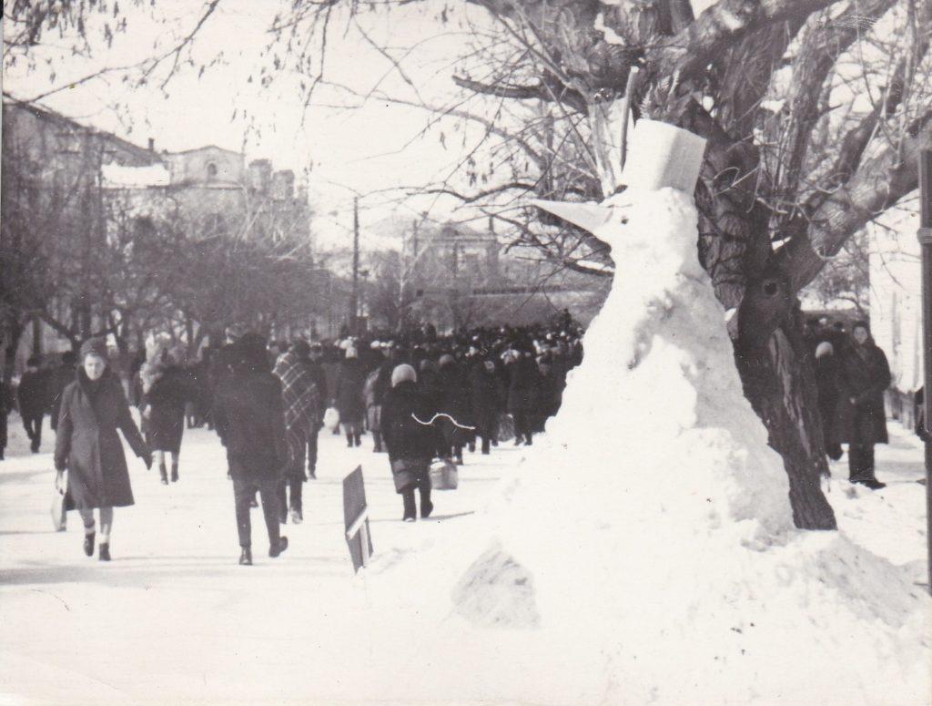 СТАРОБЕЛЬСК, 1967год, ЦЕНТРАЛЬНАЯ ПЛОЩАДЬ