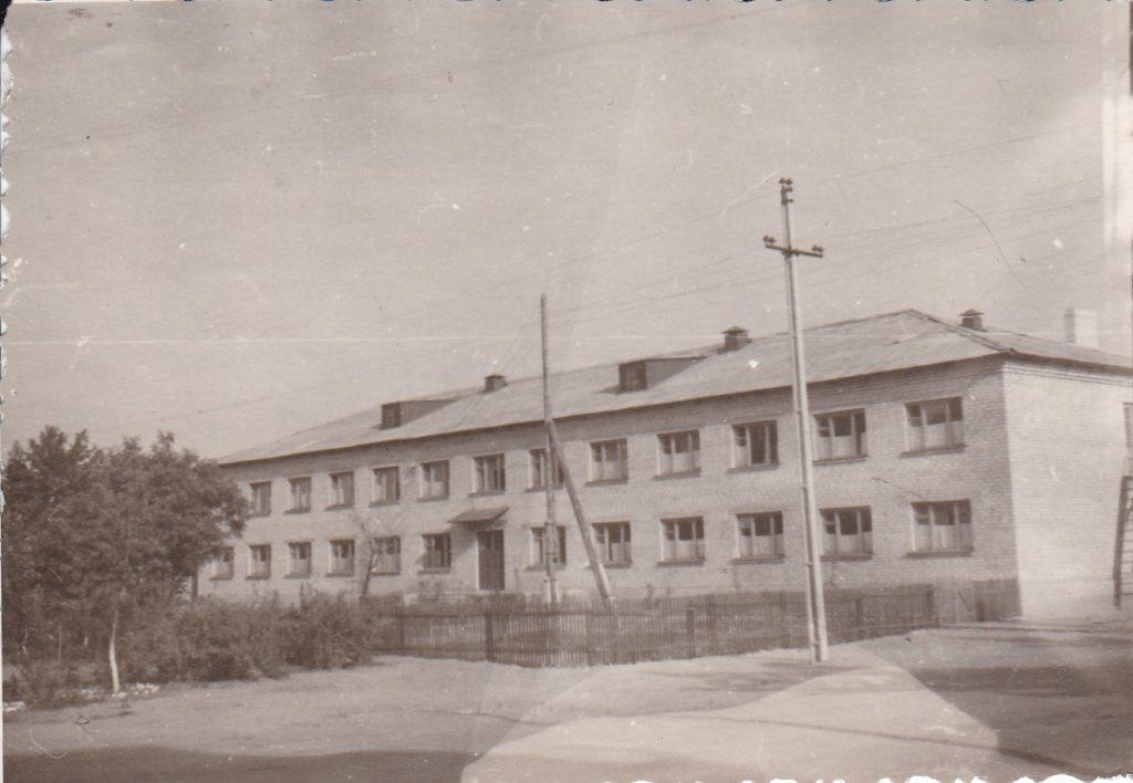 СТАРОБЕЛЬСК, ОБЩЕЖИТИЕ НА КВ. ОРДЖОНИКИДЗЕ,1964 год