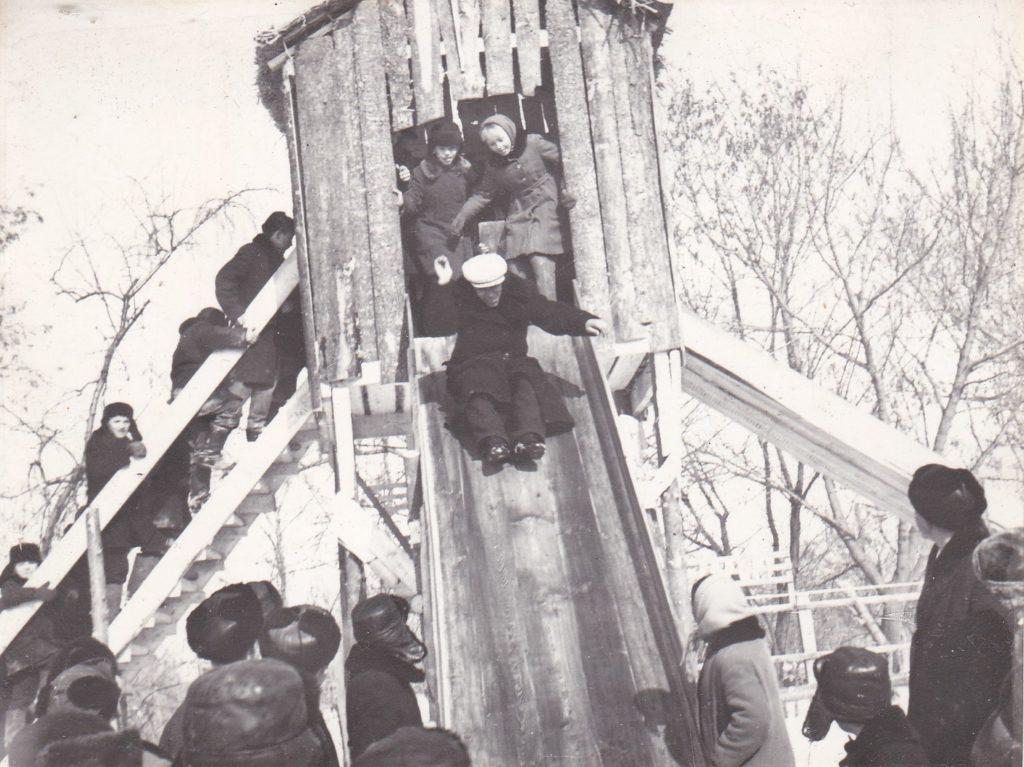 СТАРОБЕЛЬСК, ПРАЗДНИК РУССКОЙ ЗИМЫ, 1967год