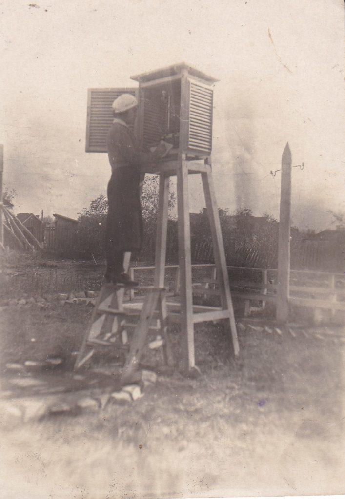 СТАРОБЕЛЬСКАЯ МЕТЕОСТАНЦИЯ, 18 ОКТЯБРЯ 1936 г.