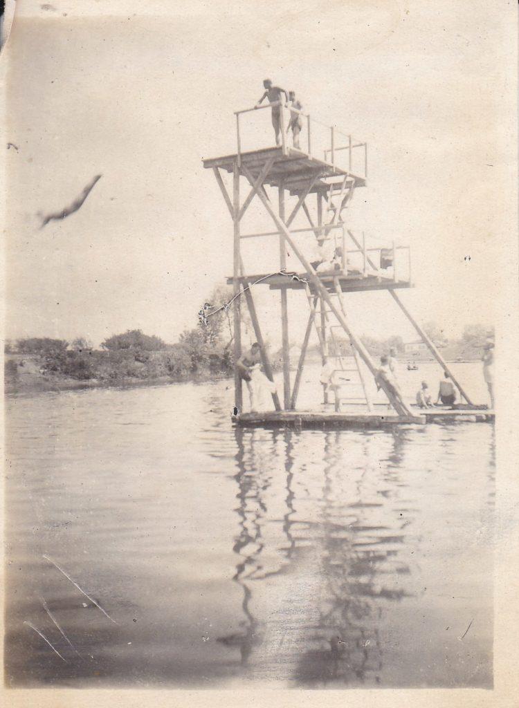 Старобельск, вышка на реке Айдар,50-е гг.