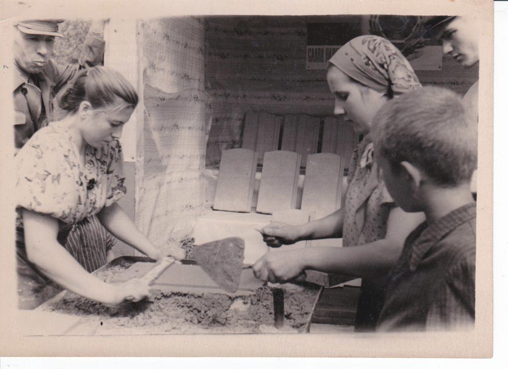 Старобельская сельскохозяйственная выставка, 1957 год.
