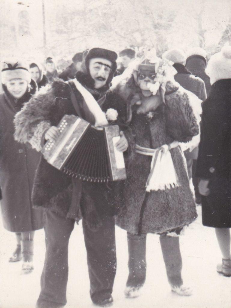 СТАРОБЕЛЬСК, ПРАЗДНИК РУССКОЙ ЗИМЫ,1967 год