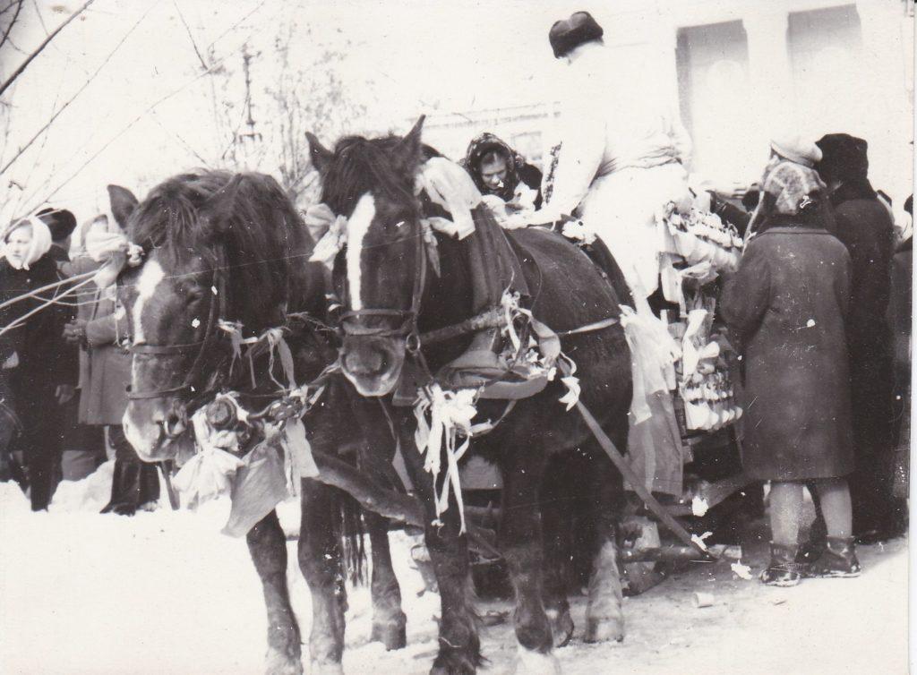 СТАРОБЕЛЬСК, ПРАЗДНИК РУССКОЙ ЗИМЫ, 1967 ГОД