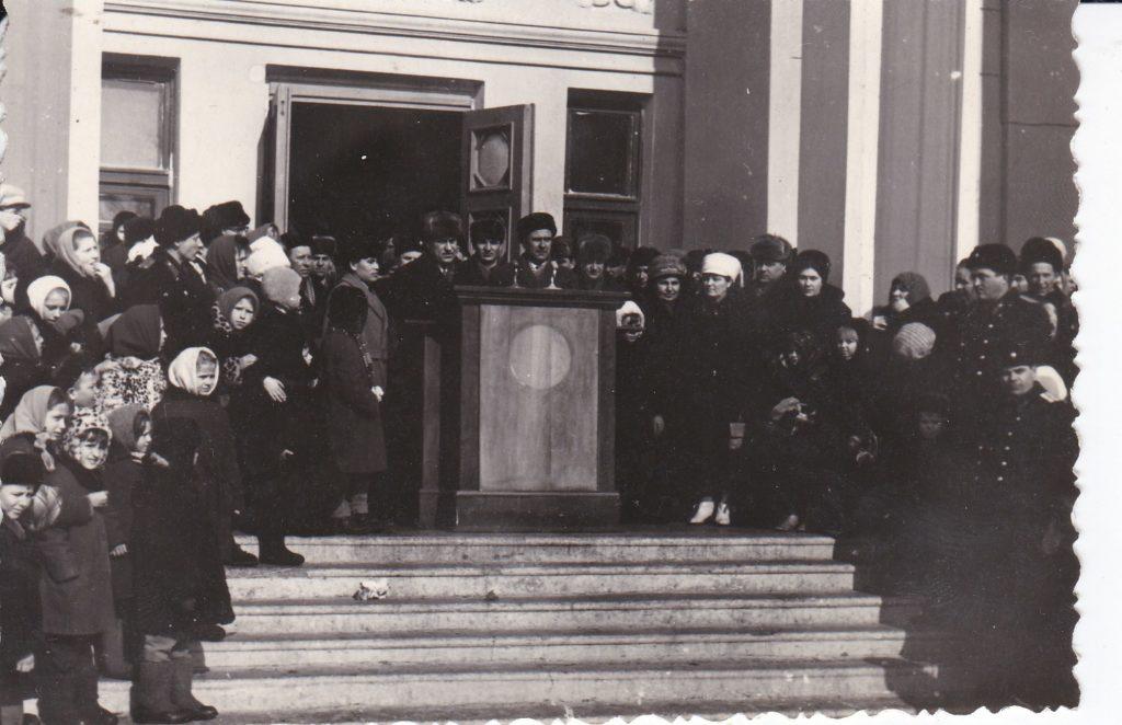 СТАРОБЕЛЬСК, ДОМ КУЛЬТУРЫ, 60-е